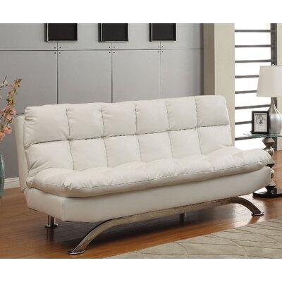 Jorgensen Convertible Sofa Upholstery: White
