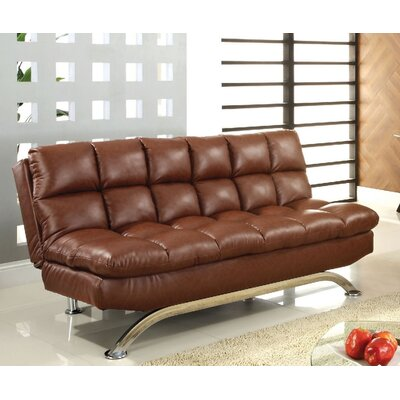 Jorgensen Convertible Sofa Upholstery: Saddle Brown