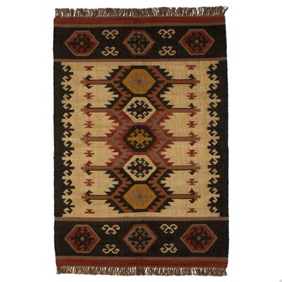 Pelley Handmade Kilim Tan Area Rug