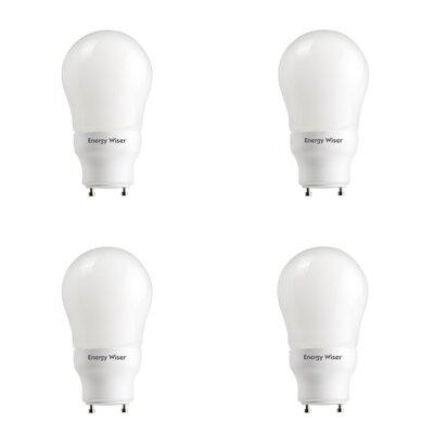 15W GU24 CFL Light Bulb Frosted