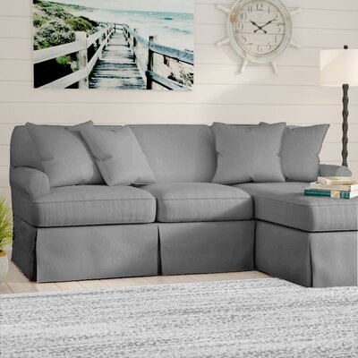 Telluride Sleeper Sectional Upholstery: Gray