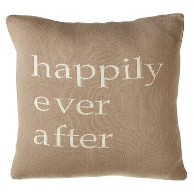Alperton Happily Ever After Cotton Throw Pillow
