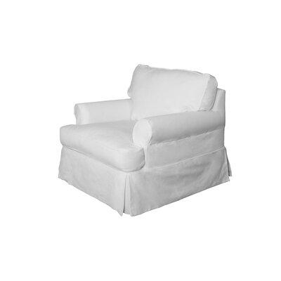 Telluride Armchair Upholstery: White