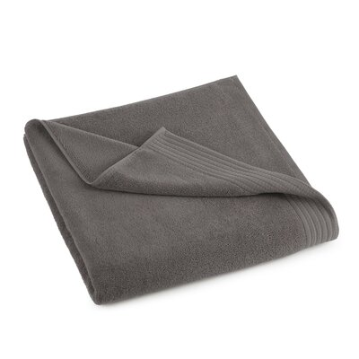 Sheridan Turkish Luxury Bath Sheet Color: Charcoal Gray