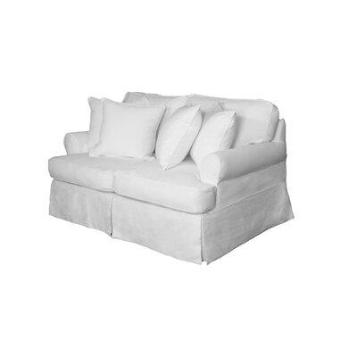 Telluride Loveseat Upholstery: White