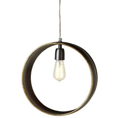 Eatman 1-Light Geometric Pendant