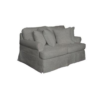 Telluride Loveseat Upholstery: Gray