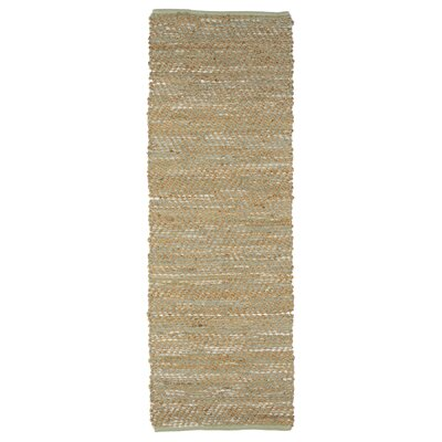 Albertson Mint Area Rug Rug Size: Runner 2 x 6