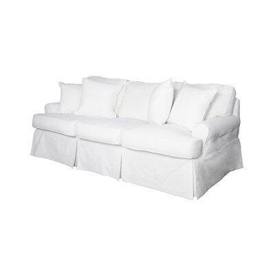 Telluride Sofa Upholstery: White