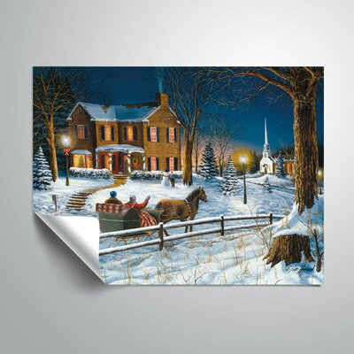Voorhies 'Home For The Holidays' Wall Decal 35372D0E8C6F4188BE42AD57DD229783
