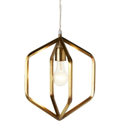 Ebbert 1-Light Geometric Pendant