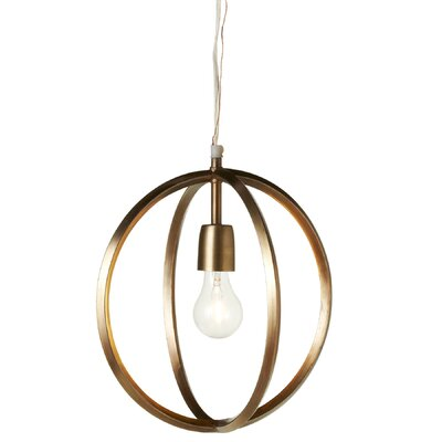 Eberhard 1-Light Globe Pendant