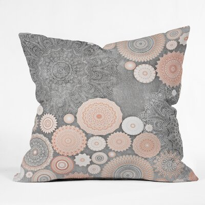Flowers Magda Opoka Throw Pillow