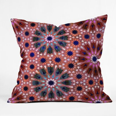 Schatzi Tangier Tile Throw Pillow