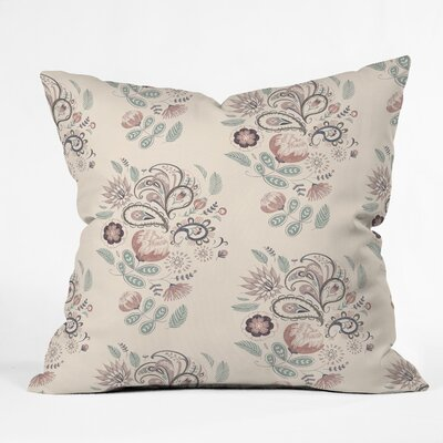 Pimlada Phuapradit Tropical Leaf Throw Pillow