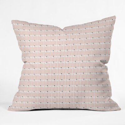 Schatzi Kilim Kind Peach Throw Pillow