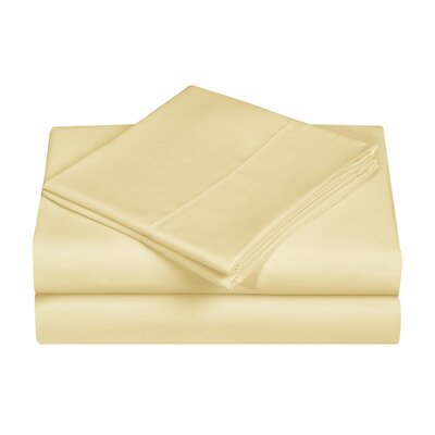 Casual Style Novelty Sheet Set Size: Full, Color: Yellow