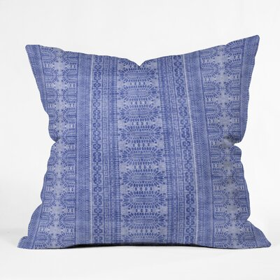 Jacqueline Maldonado Watercolor Shibori Throw Pillow