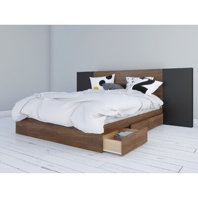 Mckean Storage Platform Bed Size: Queen