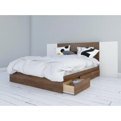 Mckamey Storage Platform Bed Size: Queen