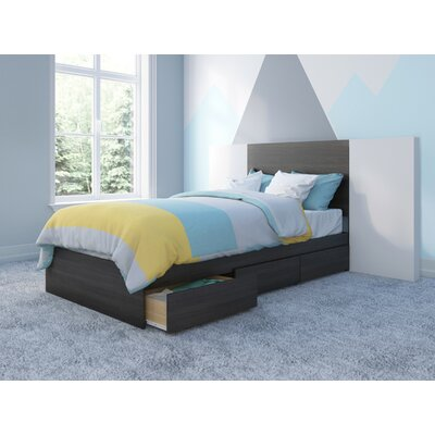 Mciver Storage Platform Bed Size: Twin