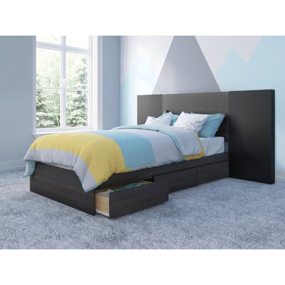Mcintyre Storage Platform Bed Size: Twin