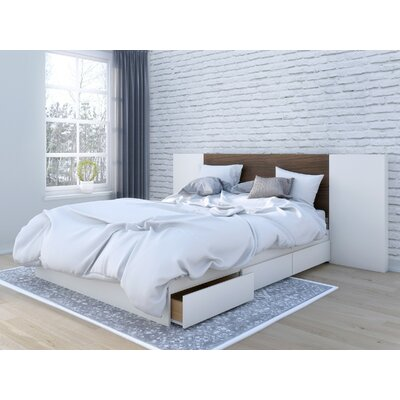 Mcintire Storage Platform Bed Size: Queen