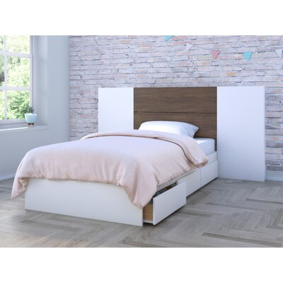 Mcintire Storage Platform Bed Size: Twin
