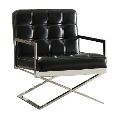 Makayla Contemporary Sleek Comfort Armchair