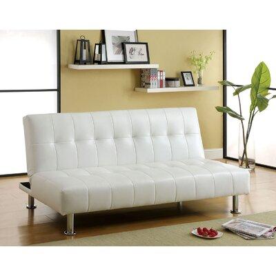 Ankiewicz Convertible Sofa Upholstery: White