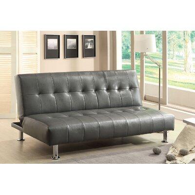 Ankiewicz Convertible Sofa Upholstery: Gray