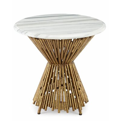 Tobiah Multi Pipes End Table