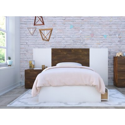 Mcinnis Platform 2 Piece Bedroom Set Size: Twin