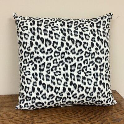 Mcevoy Throw Pillow Pillow Cover Color: Gray/White