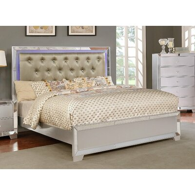Levering Full Upholstered Platform Bed