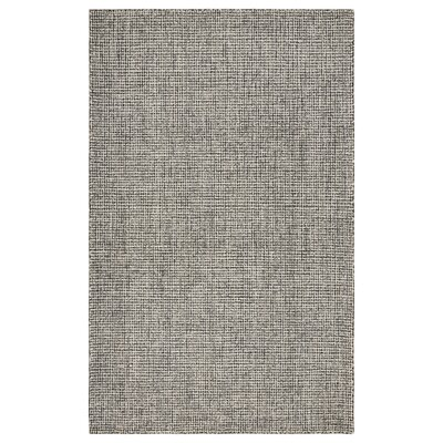 Mccurry Hand-Hooked Wool Gray Area Rug Rug Size: Rectangle 5 x 79