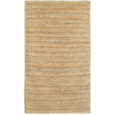 Hermbusche Classic Hand-Braided Natural Area Rug Rug Size: Rectangle 5 x 8