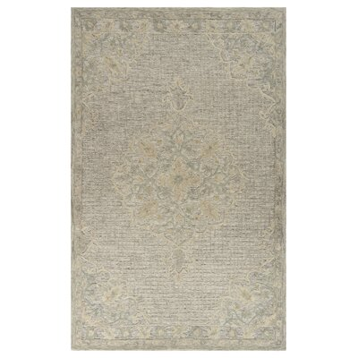 Weedman Hand-Tufted Beige Area Rug Rug Size: Rectangle 5 x 79
