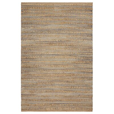 Chane Hand-Woven Aqua/Navy Area Rug Rug Size: Rectangle 5 x 79