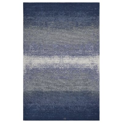 Axelrod Abstract Ombre Blue Area Rug Rug Size: Rectangle 78 x 99