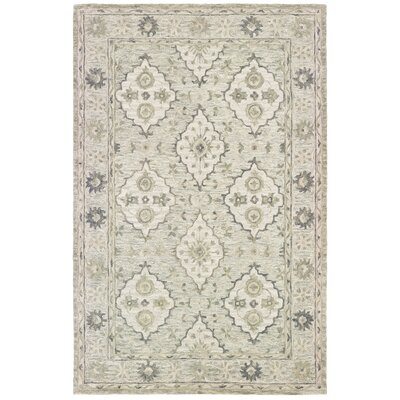 Kight Hand-Tufted Sea Weed Area Rug Rug Size: Rectangle 5 x 79