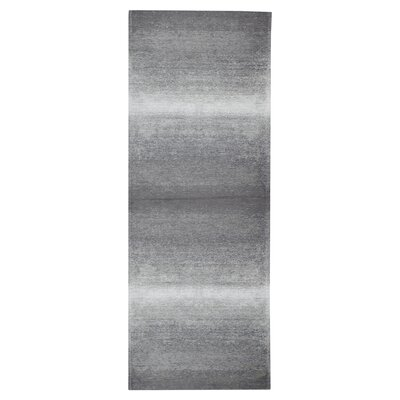 Axelrod Distressed Gray/Beige Area Rug Rug Size: Runner 28 x 7