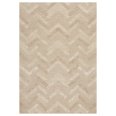 Axelrod Beige Area Rug Rug Size: Rectangle 5 x 7