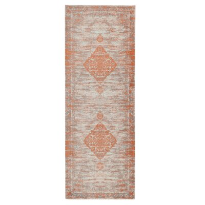 Axelrod Lively Rust Area Rug Rug Size: Runner 28 x 7