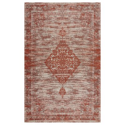 Axelrod Lively Rust Area Rug Rug Size: Rectangle 78 x 99