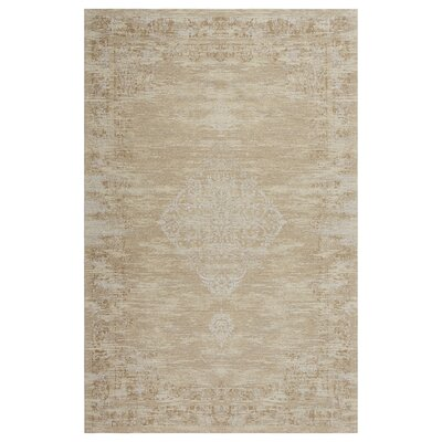 Axelrod Persian Ethereal Beige Area Rug Rug Size: Rectangle 5 x 7