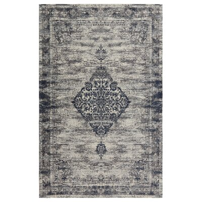 Axelrod Navy Area Rug Rug Size: Rectangle 5 x 7
