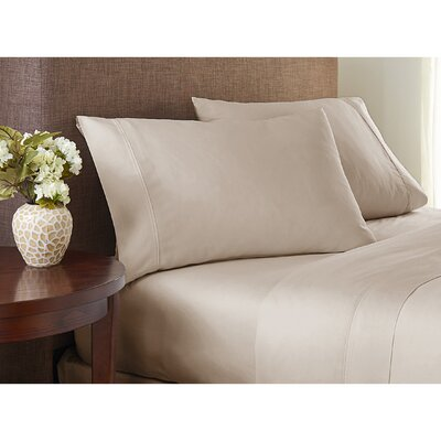 Wembley 1000 Thread Count Sheet Set Size: Queen, Color: Beige