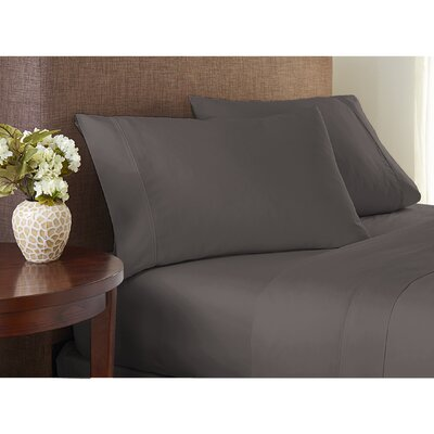 Wembley 1000 Thread Count Sheet Set Size: King, Color: Gray Frost