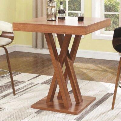 Seefeldt Pub Table Color: Brown